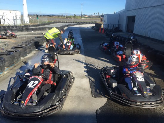 Bay Karts Outdoor Kart Racing