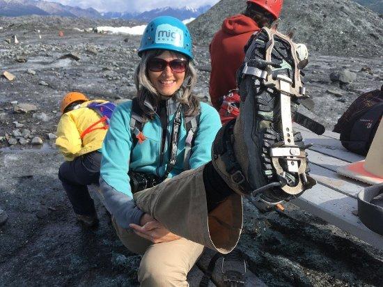 Glacier View, AK: Nice crampons