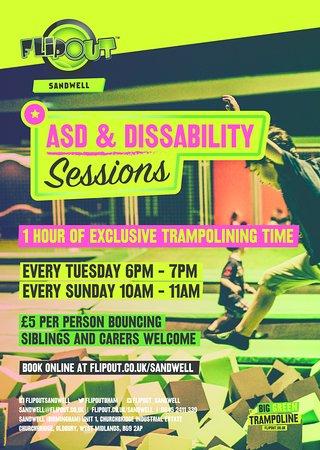Oldbury, UK: ASD Sessions every Tuesday and Sunday