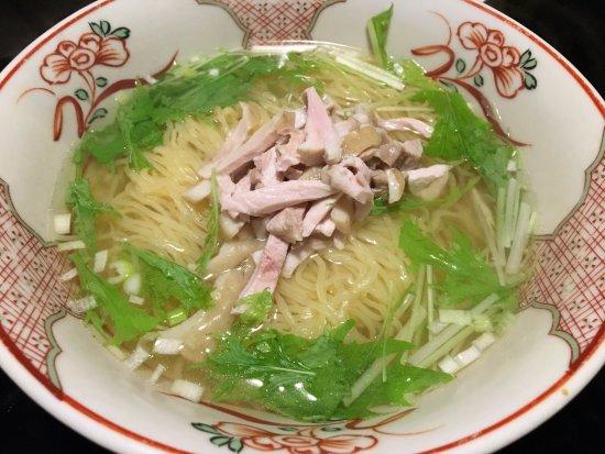 Kamisu, اليابان: 鶏肉の塩味系中華そば。。気に入りました(*^。^*)