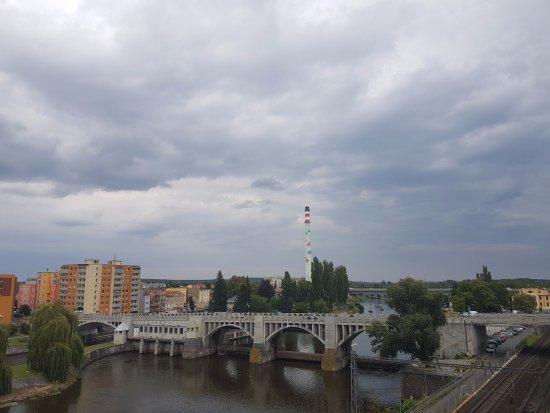 Kolin, Czech Republic: Výhled od stolu