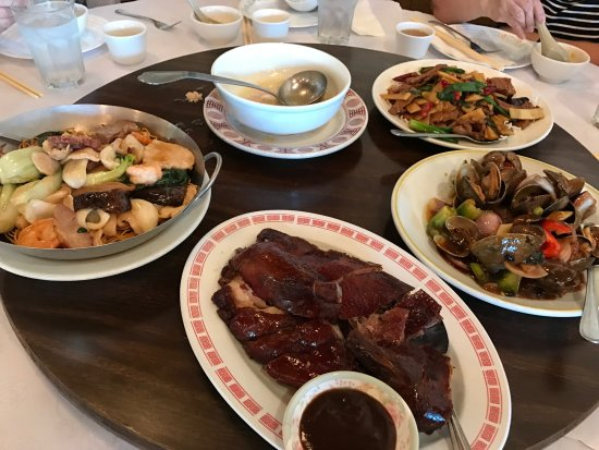 San Mateo, CA: some of the dishes we ordered.