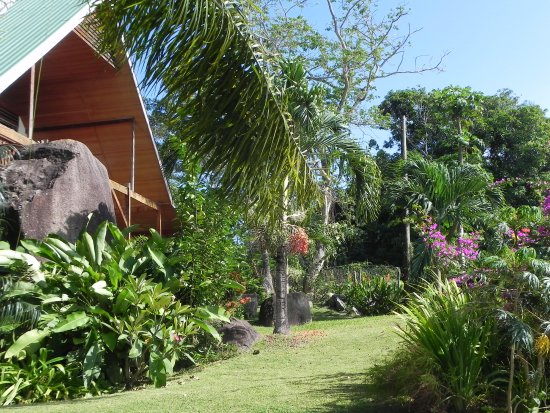 Anse Royale, Seszele: Garten