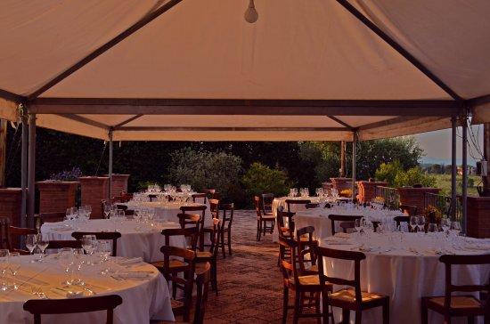 Pozzuolo, Italia: Party in terrazza