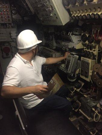 Galata Museo del Mare: Posto di comando del sottomarino