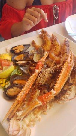 Restaurante Balneario La Magdalena: Plato de marisco