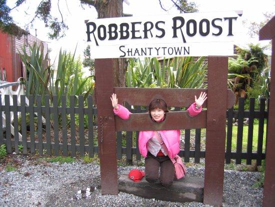 Greymouth, Selandia Baru: Shantytown