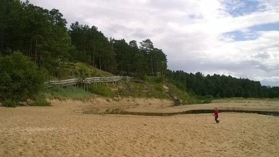 Saulkrasti, Letonia: Дюна