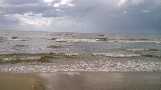Saulkrasti, Letonia: море в Саулкрасты