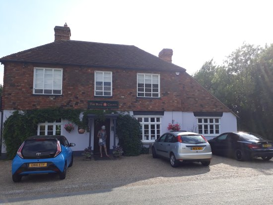 Pluckley, UK: Front of house