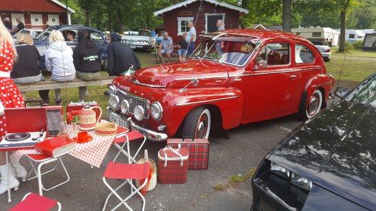 Eksjo, Sweden: veteranbiler om tirsdagen