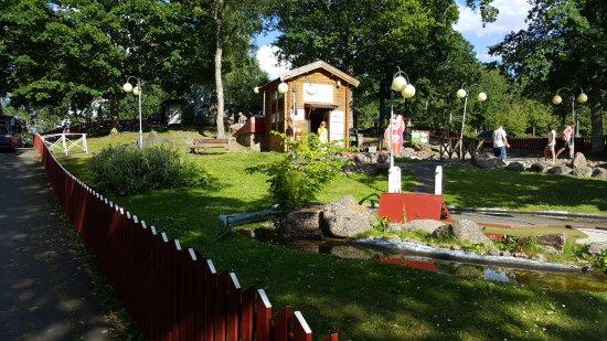 Eksjo, Sweden: minigolf