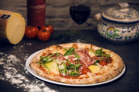 Kuopio, Finlandiya: Pizza Marlon Brando