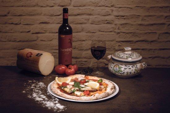 Kuopio, Finlandiya: Pizza Leonardo Di Caprio