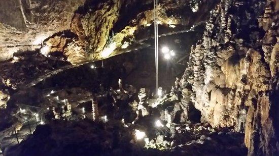 Grotta Gigante: panoramica