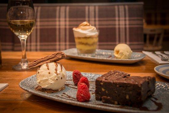Antrim, UK: Chocolate and Hazelnut Brownie