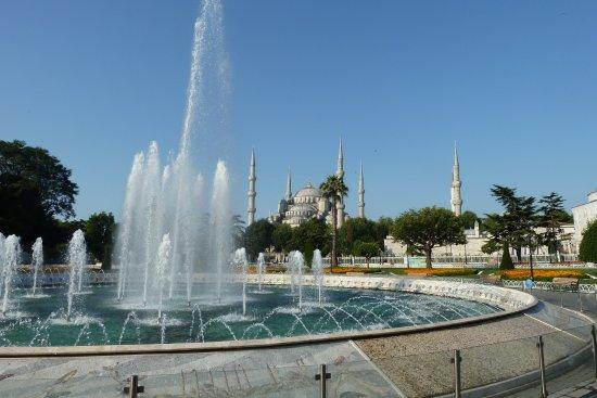 Stadtviertel Sultanahmet: Вид на Голубую мечеть
