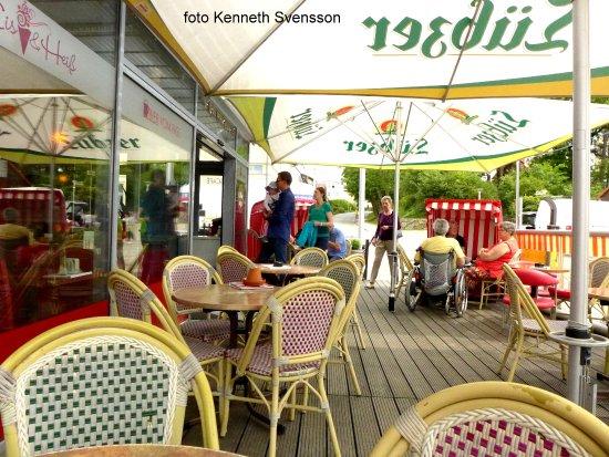 Altefähr, Deutschland: Trivsamt och njutbart hos Jannys Eis
