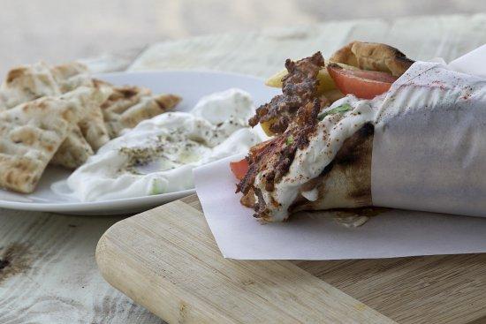 Милопотас, Греция: Homemade Pork Gyros