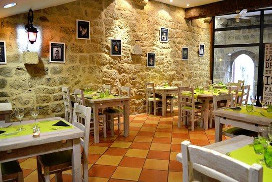 Saint-Macaire, Francia: Salle de restaurant
