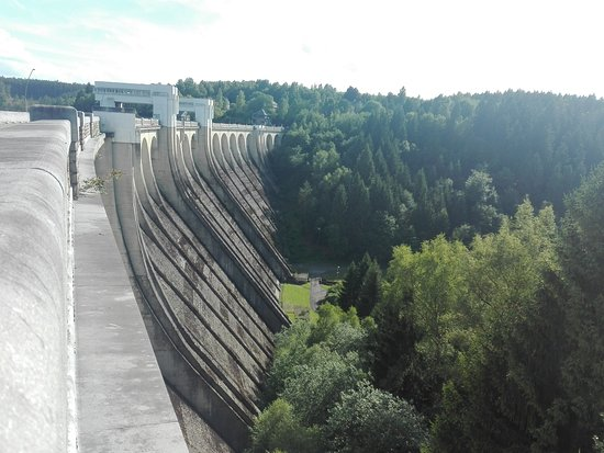 Barrage d'Eupen: le barrage