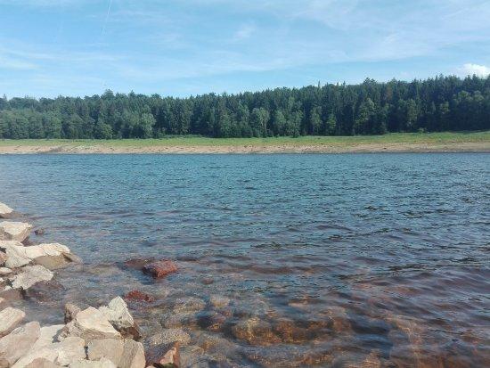 Barrage d'Eupen: eau potable .. interdiction de se baigner