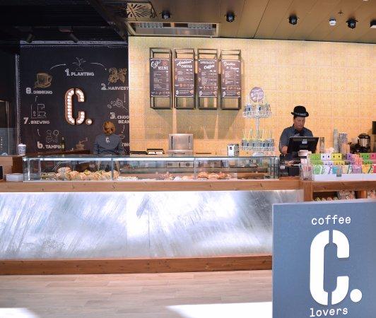 Tessera, Italy: Benvenuti nel nuovo C., solo per veri Coffee Lovers!