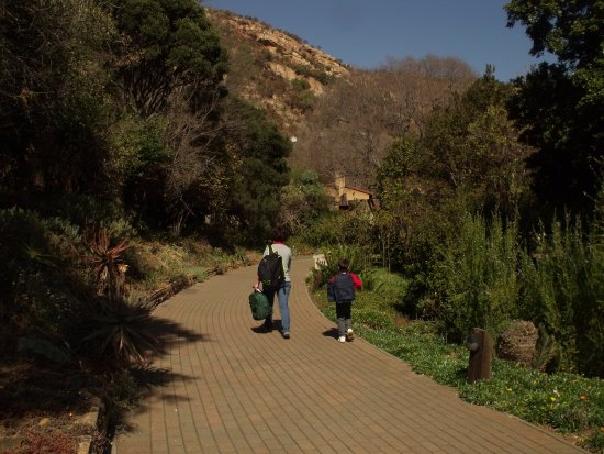 Roodepoort, Zuid-Afrika: The Eagle's Fare is nestled in the Botanic Gardens.