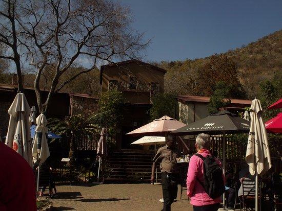 Roodepoort, Güney Afrika: Cosy inside and sunny outside.