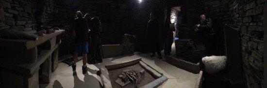 Stromness, UK: Skara Brae replica house