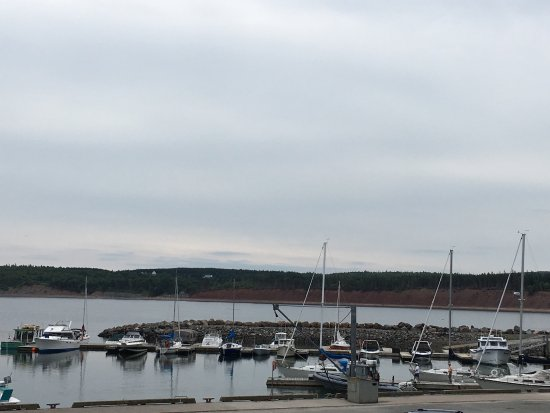 Antigonish, Canada: Excellent lunch and view!