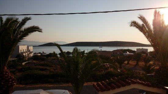 Diakofti, Grèce : poco dopo l'alba dalla camera
