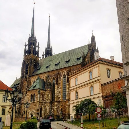 St Peter's and Paul's cathedral in Brno