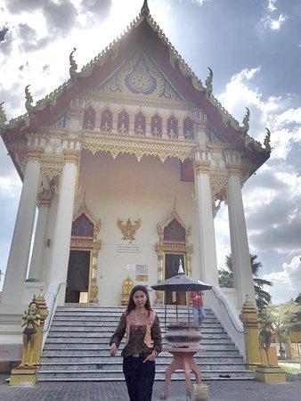 The Thai Chetawan Temple (Wat Chetawan): Bagian depan kuil Wat Chetawan