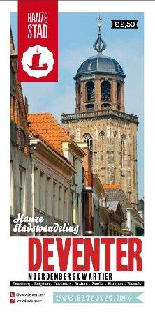Deventer, Nederländerna: Historische wandeling door het Noordenbergkwartier