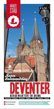 Deventer, Nederländerna: Historische wandeling door het bergkwartier en over de Brink