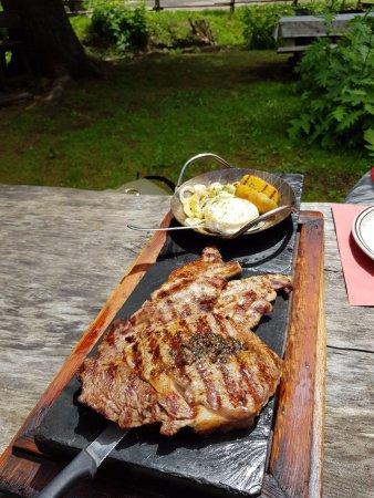 Carezza, Itália: Bistecca