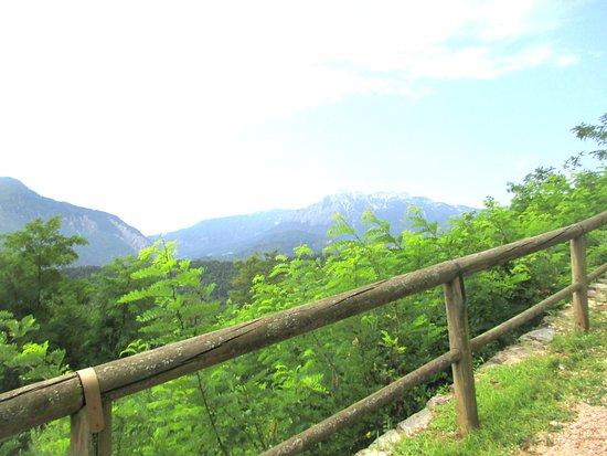 Chiesetta di San Biagio: percorso nel bosco