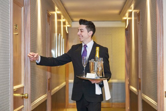 Room Service - Picture of The Capital Hotel, London - TripAdvisor