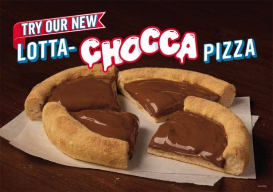 Bromborough, UK: Our all NEW Lotta-Chocca Pizza!
