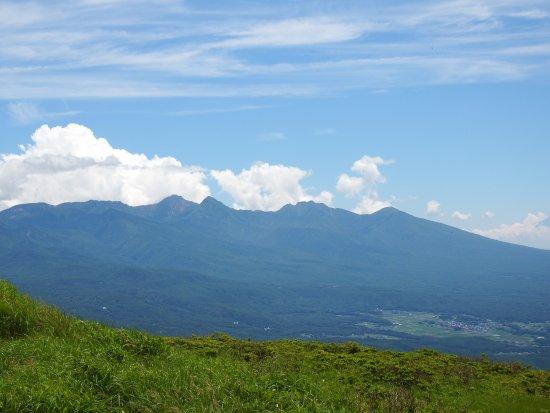 Suwa, Japan: 八ヶ岳全ぼう