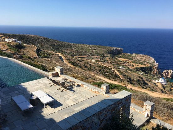 Kastro, Greece: view from the room