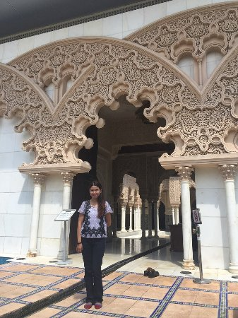 Putrajaya, Malaysia: Pintu masuk Astaka Morocco