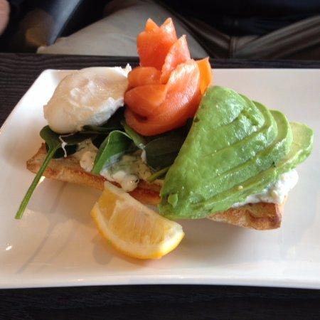 Orewa, New Zealand: Salmon & Avocado Stack