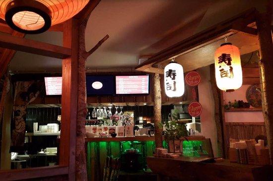 Djursholm, Sverige: Interiören återskapar en lantlig asiatisk atmosfär