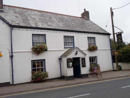 Fraddon, UK: blue Anchor