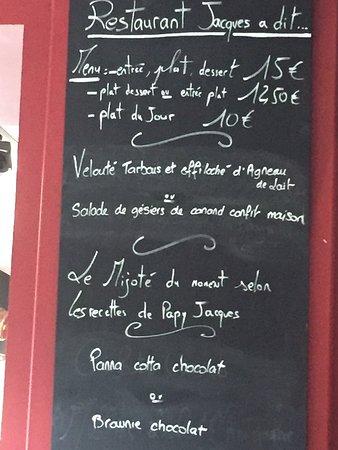 Villefranche-de-Rouergue, Frankrike: La formule du jour le 20 juillet 2017