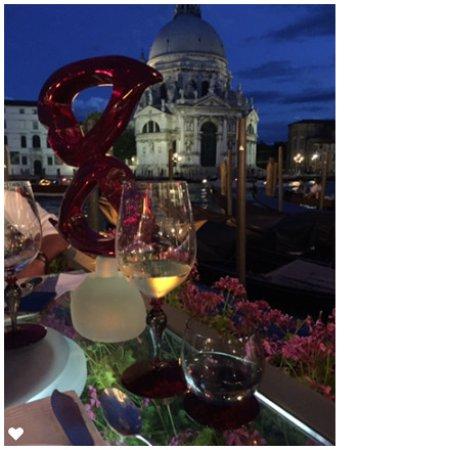 The Westin Europa & Regina, Venice: Floating table