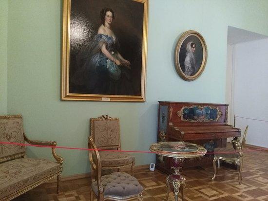 Gatchina, Russia: интерьер комнат