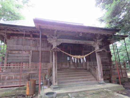 Tendo, Japan: 拝殿の様子